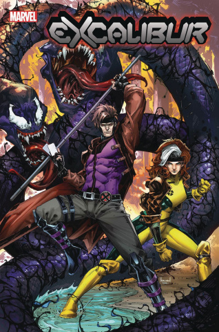 Excalibur #4 (Ngu Venom Island Cover)