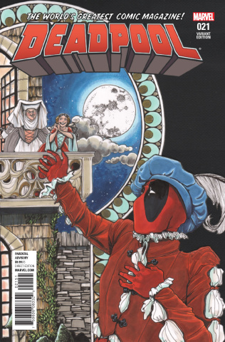 Deadpool #21 (Janet Lee Cover)