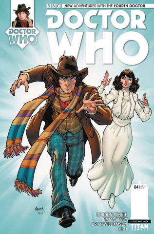 Doctor Who: New Adventures with the Fourth Doctor #4 (Nauck Cover)