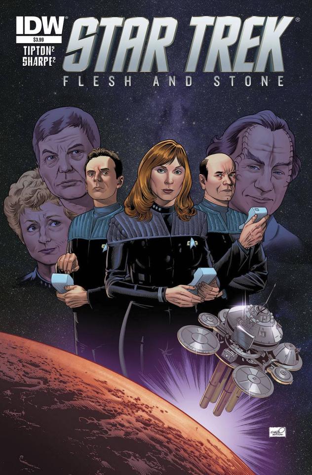 Star Trek: Flesh and Stone #1