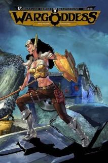War Goddess #0 (Wrap Cover)