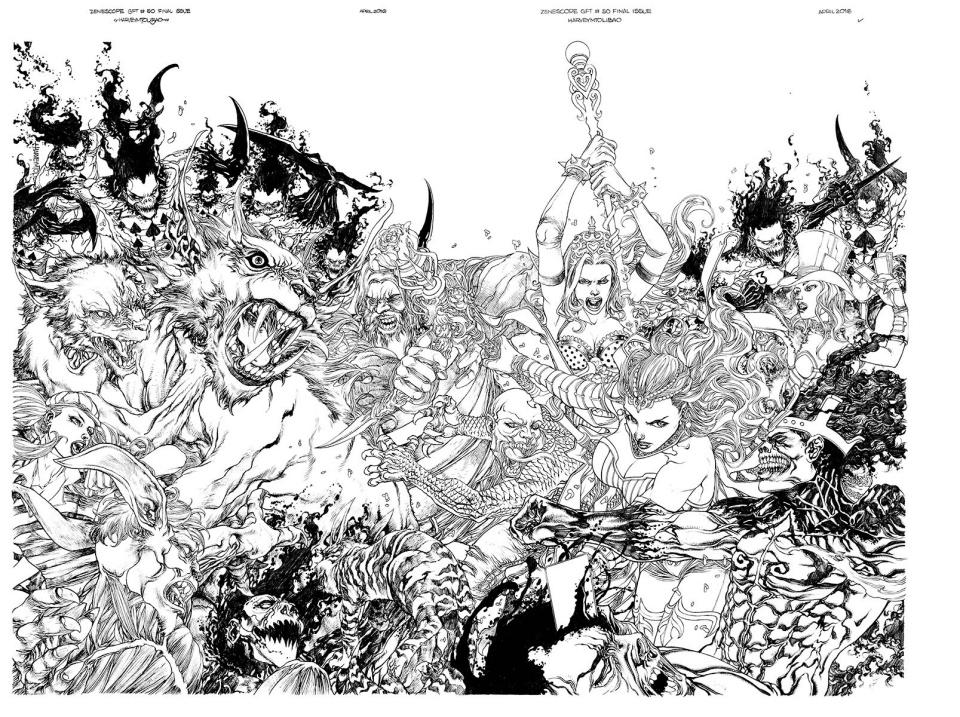 Grimm Fairy Tales: Wonderland #50 (Tolibao Cover)