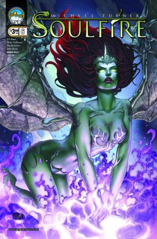 Soulfire #6 (Ruffino Cover)