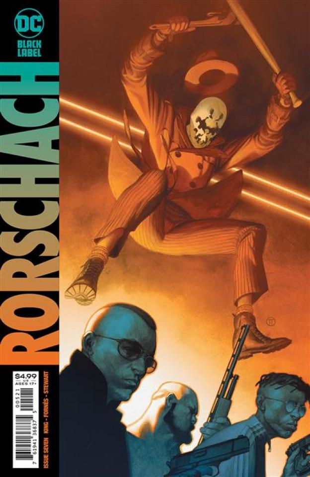 Rorschach #7 (Julian Totino Tedesco Cover)