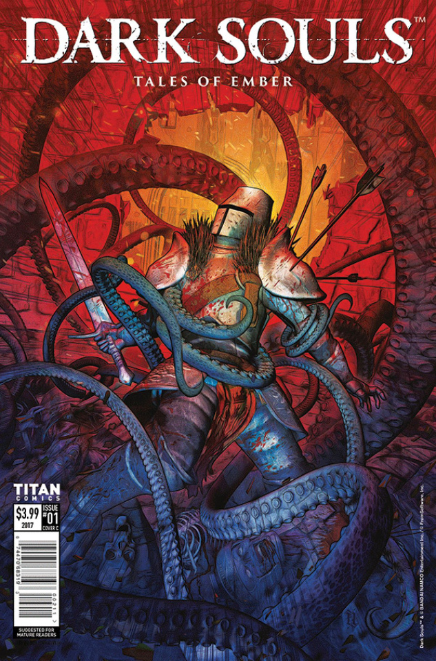 Dark Souls: Tales of Ember #1 (Listrani Cover)