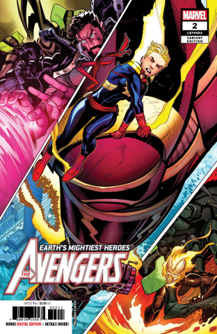 Avengers #2 (McGuinness 4th Printing)