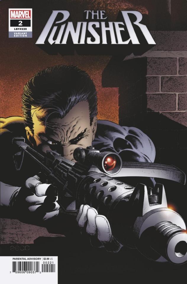 The Punisher #2 (Zeck Hidden Gem Cover)
