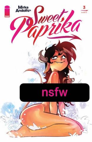 Sweet Paprika #3 (Andolfo Cover)
