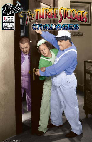 The Three Stooges: Through the Ages #1 (Photo Cover)