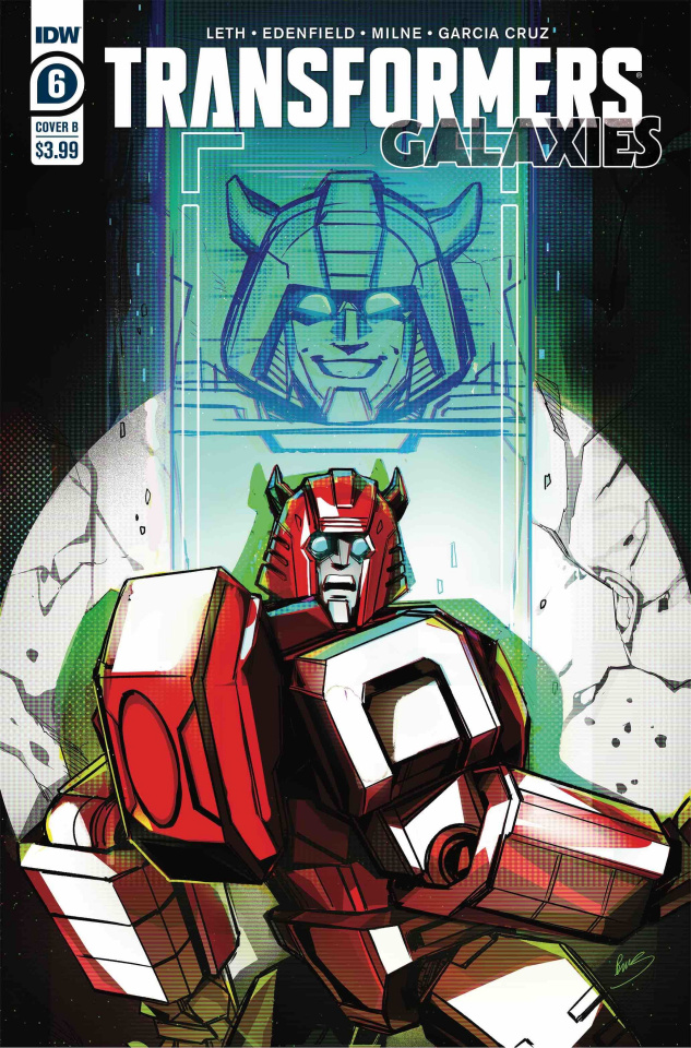 The Transformers: Galaxies #6 (McGuire-Smith Cover)