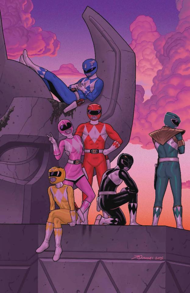 Mighty Morphin' Power Rangers #2 (50 Copy Quinones Cover)