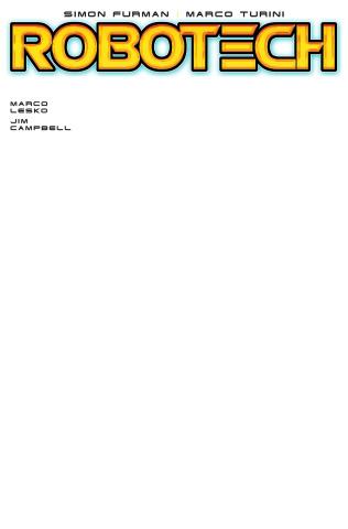 Robotech #13 (Blank Sketch Cover)