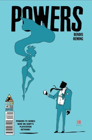 Powers #6 (Mack Cover)