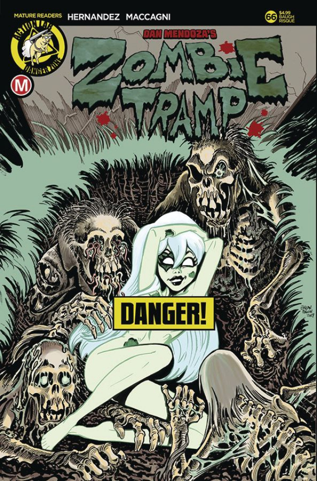 Zombie Tramp #66 (Baugh Risque Cover)