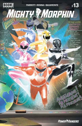 Mighty Morphin #13 (Reveal Del Mundo Cover)