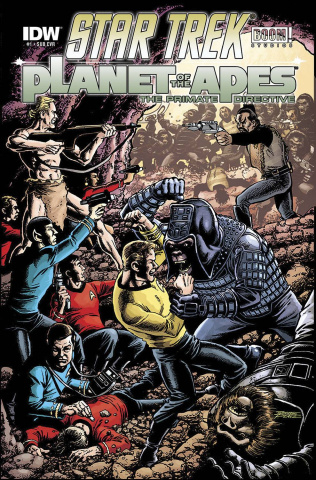 Star Trek / Planet of the Apes #1 (Subscription Cover)