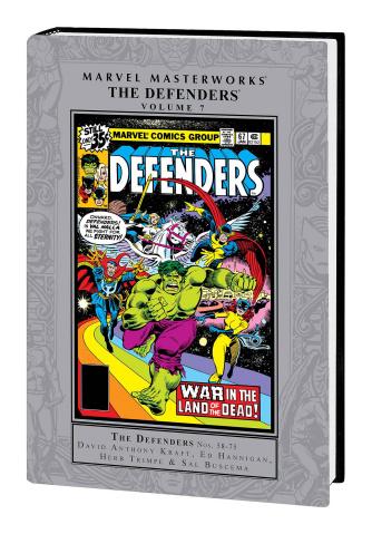 The Defenders Vol. 7 (Marvel Masterworks)