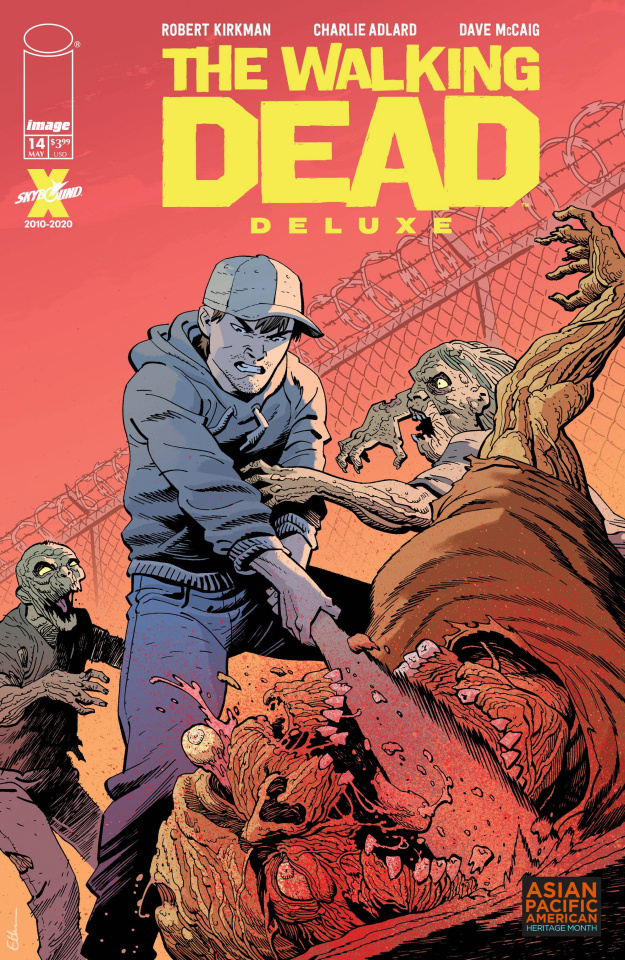 The Walking Dead Deluxe #14 (Young AAPI Cover)
