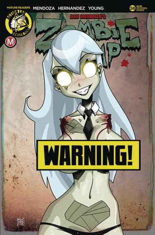 Zombie Tramp #58 (Mendoza Risque Cover)