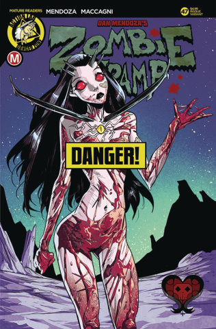 Zombie Tramp #47 (Celor Risque Cover)