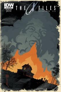 The X-Files, Season 11 #4 (Subscription Cover)