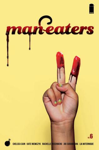 Man-Eaters #6 (Miternique Cover)