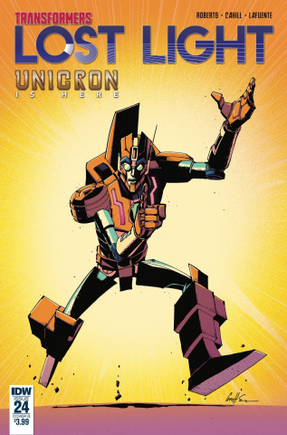 The Transformers: Lost Light #24 (Senior Cover)