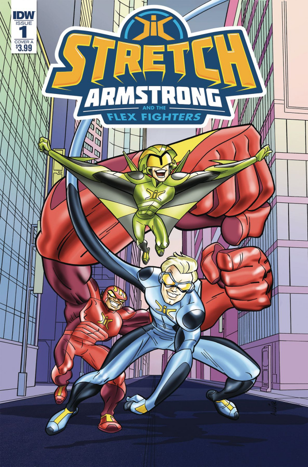 Stretch Armstrong and the Flex Fighters #1 (Amancio Cover)