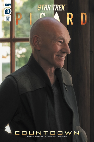 Star Trek: Picard #3 (10 Copy Photo Cover)