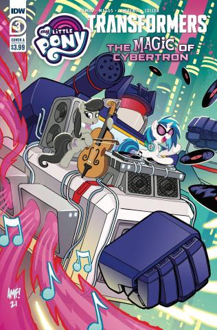 My Little Pony / The Transformers II #3 (Tony Fleecs Cover)