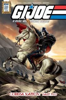 G.I. Joe: A Real American Hero #227 (Art Appreciation Cover)