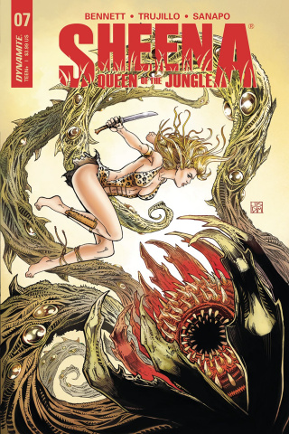 Sheena #7 (Duursema Cover)