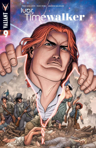 Ivar, Timewalker #9 (10 Copy Portella Cover)