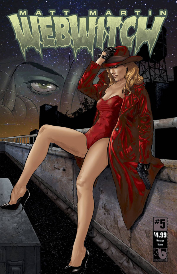 Webwitch #5 (Vintage Vixen Cover)