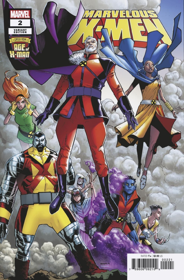 Age of X-Man: The Marvelous X-Men #2 (Ramos Cover)