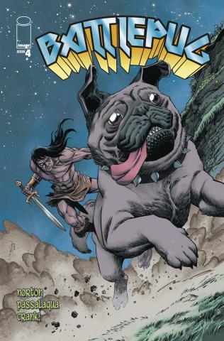 Battlepug #4 (Shalvey Cover)