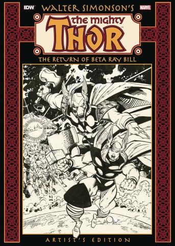 Walter Simonson's The Mighty Thor: The Return of Beta Ray Bill (Artist's Edition)
