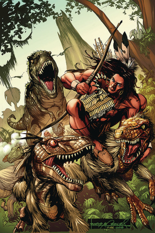 Turok #3 (30 Copy Morales Virgin Cover)