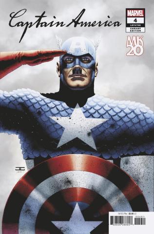Captain America #4 (Cassaday Cover)