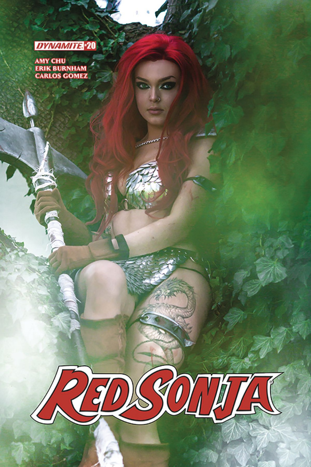 Red Sonja #20 (Cosplay Cover)