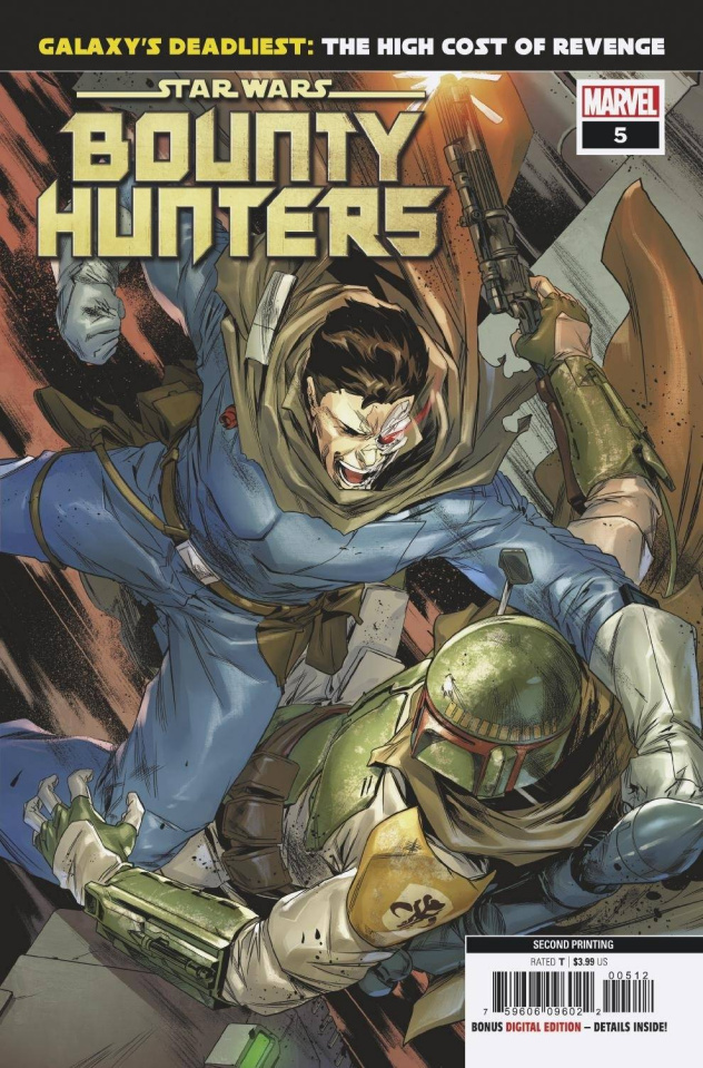 Star Wars: Bounty Hunters #5 (Villanelli 2nd Printing)