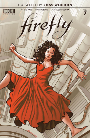 Firefly #7 (Preorder Quinones Cover)