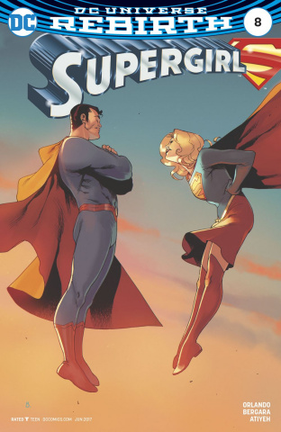 Supergirl #8 (Variant Cover)