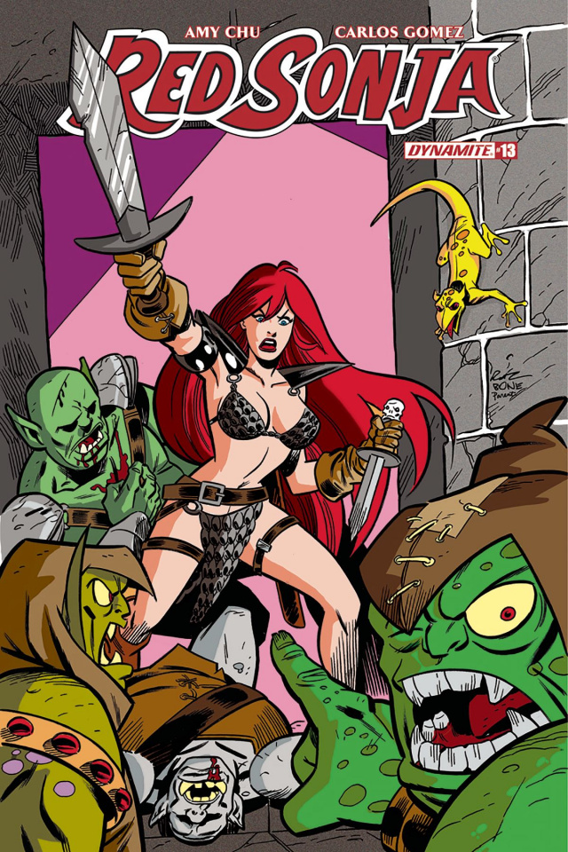 Red Sonja #13 (Ruiz Subscription Cover)