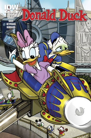 Donald Duck #1 (25 Copy Cover)