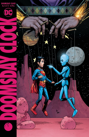 Doomsday Clock #8 (Variant Cover)