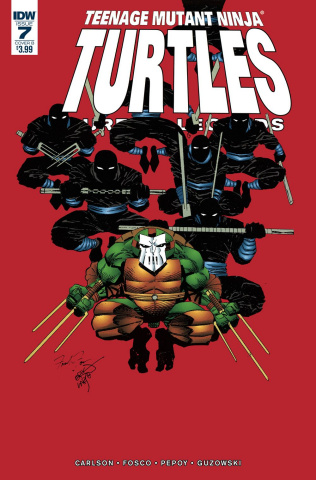 Teenage Mutant Ninja Turtles: Urban Legends #7 (Fosco & Larsen Cover)