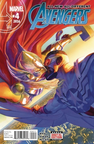 All-New All-Different Avengers #4 (Alex Ross 2nd Printing)