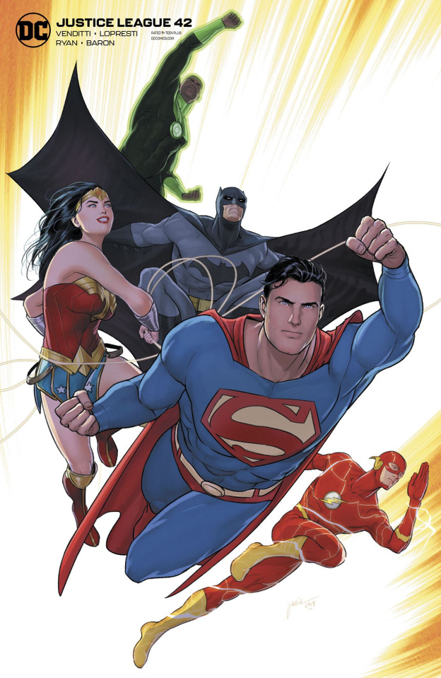Justice League #42 (Card Stock Mikel Janin Cover)