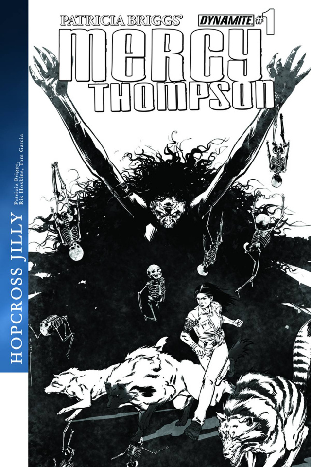 Mercy Thompson #1 (10 Copy Garcia B&W Cover)